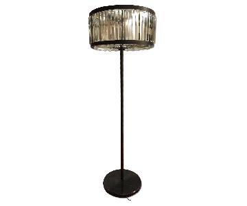 Restoration Hardware Welles Clear Crystal Floor Lamp