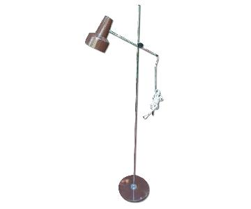 "Luxo Adjustable Architect""s Floor Lamp"