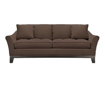 Raymour & Flanigan Rory Microfiber Pullout Sofa