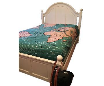 Full Size Panel Bed Frame