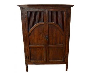 Antique Javanese Teak Cabinet