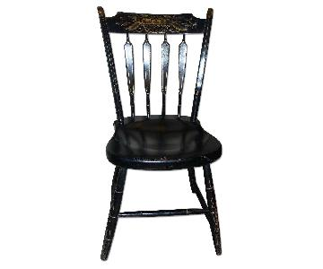 Vintage Hitchcock-Style Arrowback Chair