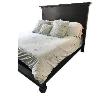 Restoration Hardware Camden King Size Panel Bed Frame