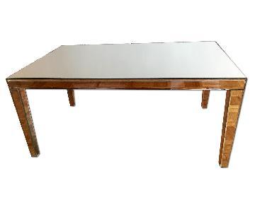 Arhaus Mirrored Coffee Table