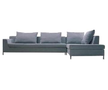 Camerich Three Seater Sectional Sofa w/ Chaise