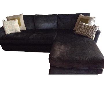Sofa.com Blue Sectional w/ Chaise