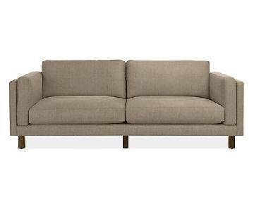 Room & Board Holden Grey Sofa