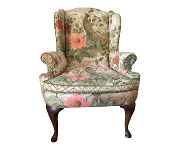 Henredon Vintage Wing Chair