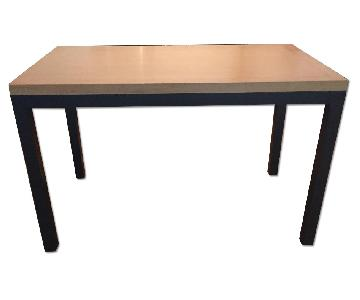 Crate & Barrel Parsons Dining Room Table