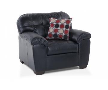 Bob's Mercury Leather Armchair