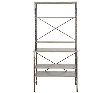 Safavieh Brooke 6-Tier Bookshelf/Etagere