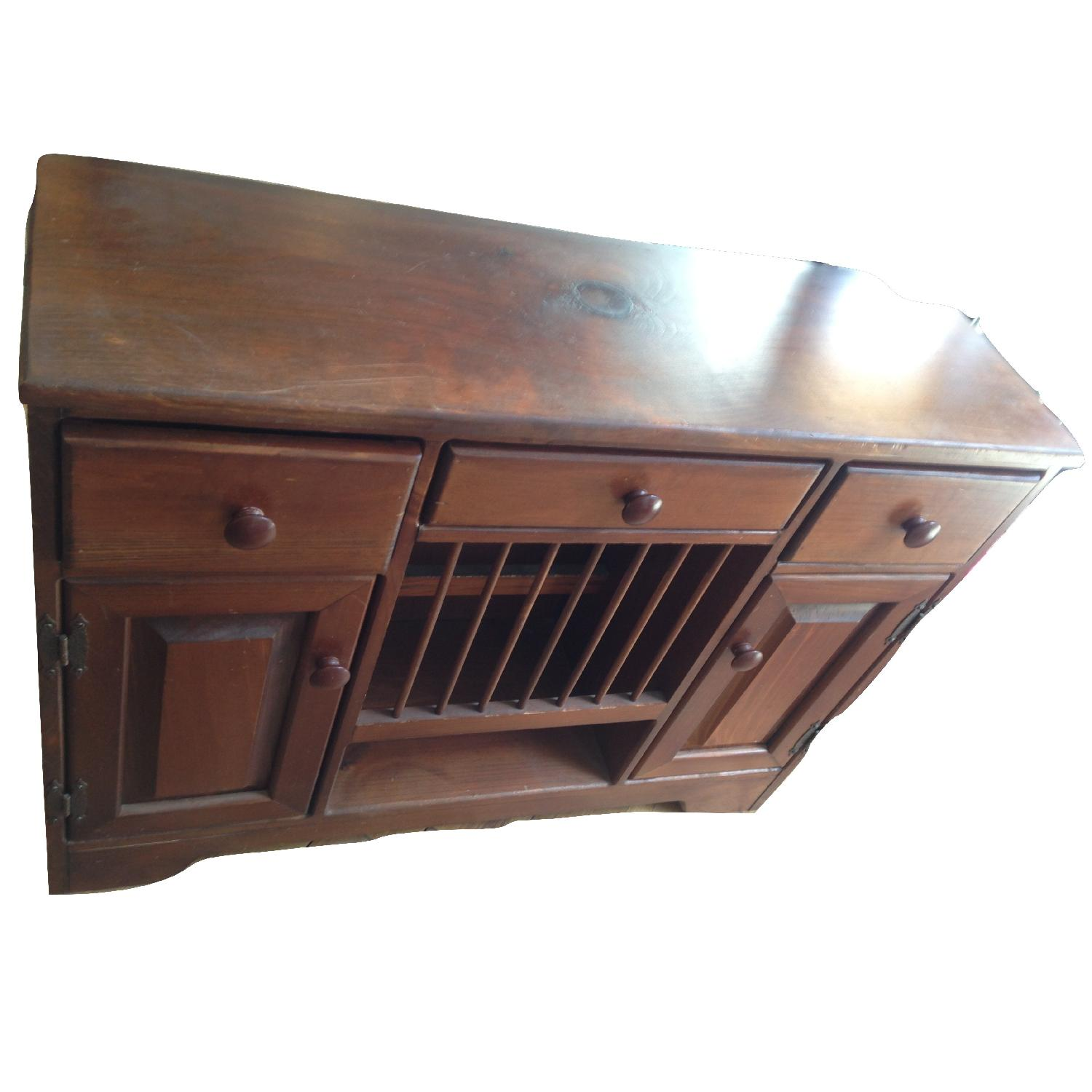 Vintage Small Wood Dresser/Sideboard