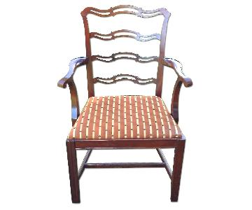 Antique Chippendale Mahogany Chairs