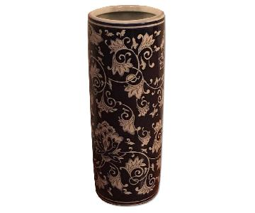 One King's Lane Floral Umbrella Stand