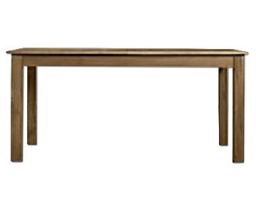 Restoration Hardware Parsons Extendable Dining Table