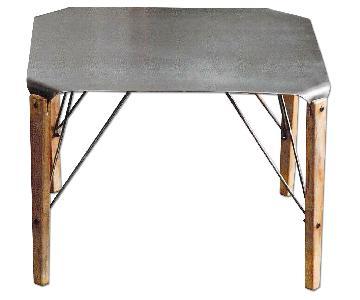 Steel Plate Coffee Table