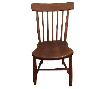 Early American Antique Wooden Chair