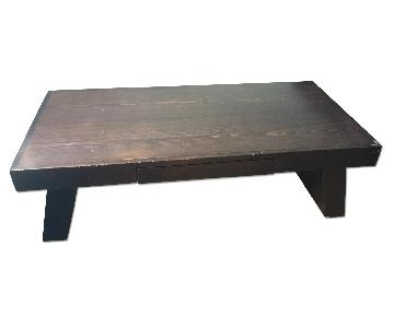 Imported Hardwood Coffee Table