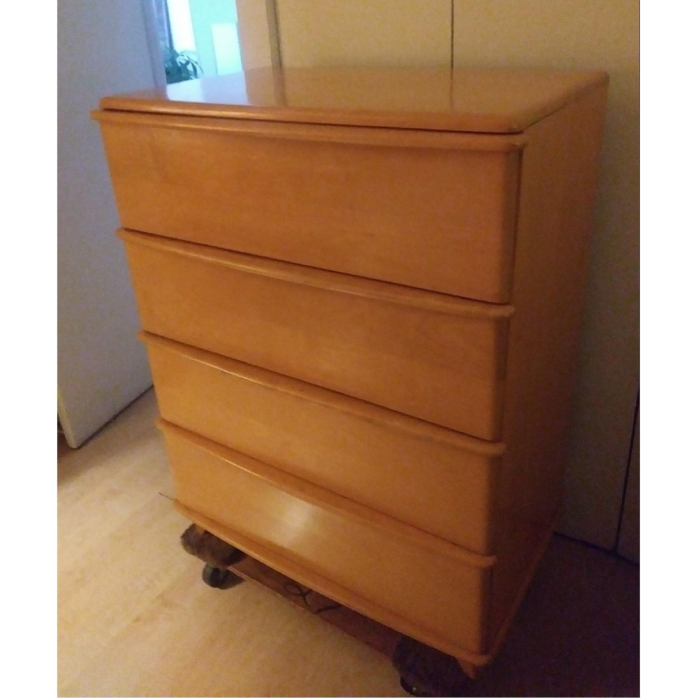 heywood wakefield miami collection highboy dresser1 - Highboy Dresser