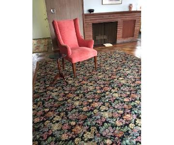ABC Carpet and Home Floral Needlepoint Rug