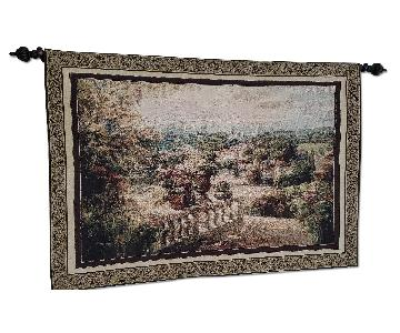 Country Side Villa Tapestry