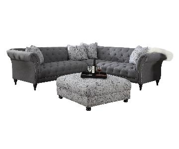 Wayfair Awa Turenne Tufted Two Piece Sectional