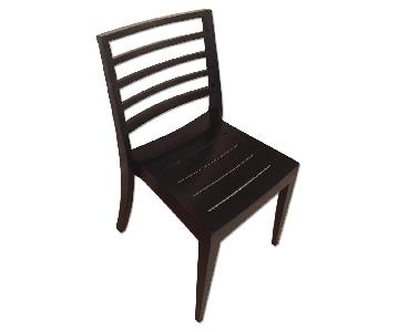 Beau Marche Danish Design Black Dining Chairs