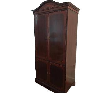 Antique Media Cabinet