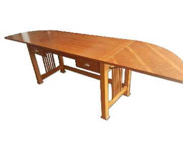 Bassett Solid Oak Desk
