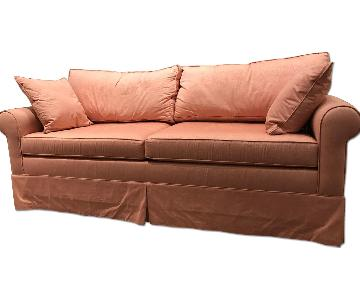 Carlyle Round Arm Lawson 3-Seater Sofa Bed