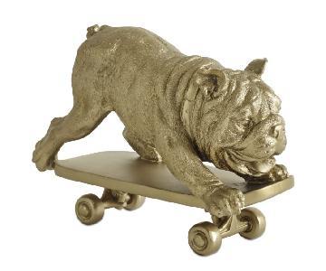 BoConcept Skating Dog Sculpture