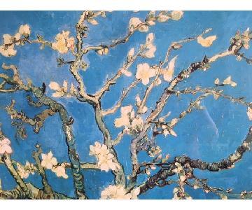 Framed Van Gogh Almond Blossom Poster