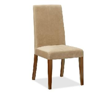 Pottery Barn Grayson Suede Dining Chairs