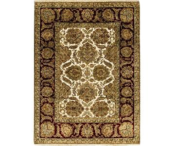 Crown Select Magnolia Cream/Red Rug