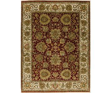 Trinity Collection Red/ Ivory Rug
