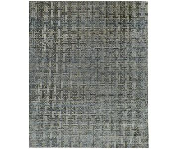 Indo Collection Canterbury Blue/Ivory Rug