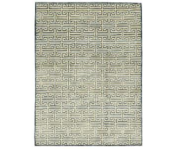 Himalayan Art Windsom Ivory/Blue Rug