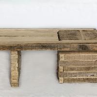 Darvo Contemporary Poplar Coffee Table