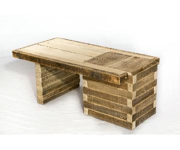 Darvo Contemporary Poplar Coffee Table