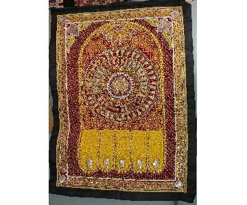 Kalaga - Ornate Glass & Bead Embroidery