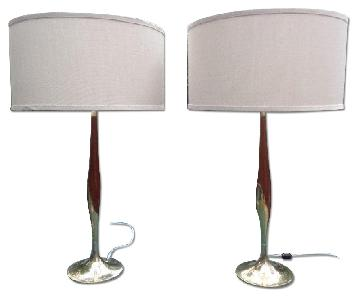 Gio Ponti for Laurel Lamp Company Table Lamps