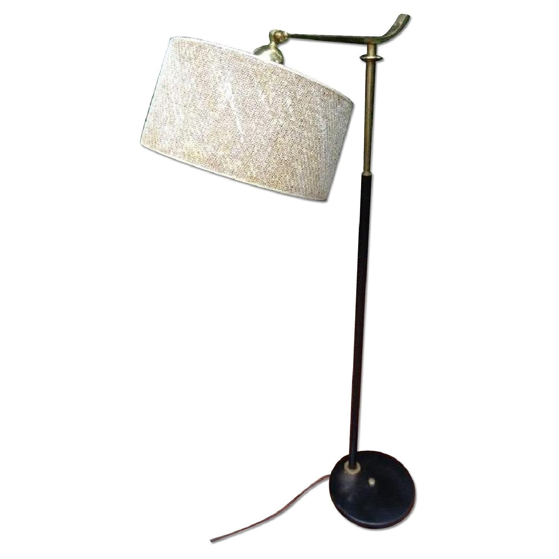 Gerald Thurston Pivoting Floor Lamp w/ Original Shade