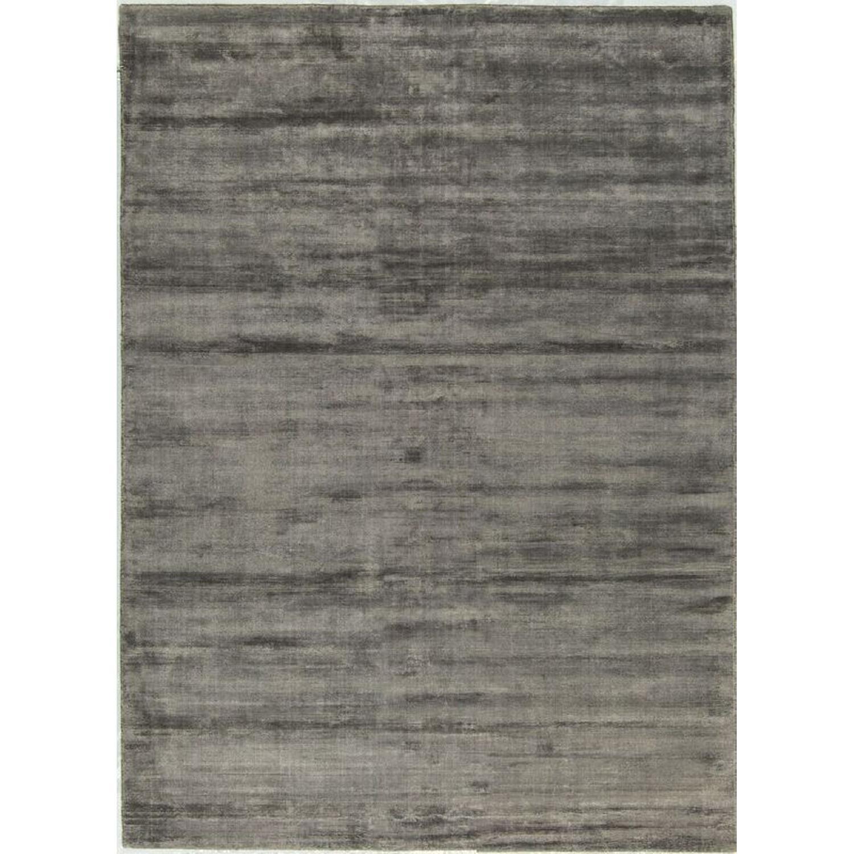 Handloomed Rug in Charcoal