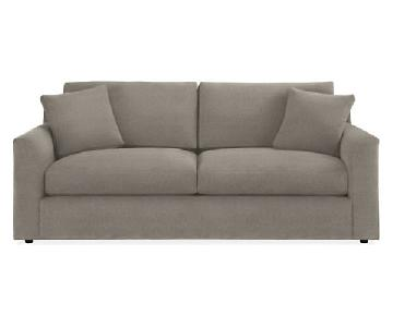 Room & Board Malone Grey Couch