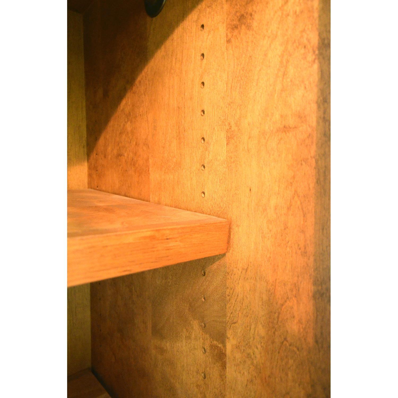 handmade solid oak armoirewardrobe  aptdeco -  handmade solid oak armoirewardrobe