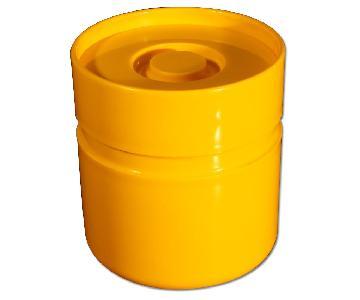 Sergio Asti for Heller Ice Bucket in Sunshine Yellow