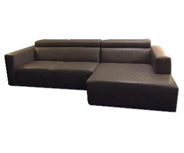 Calligaris Leather Upgrade Sectional