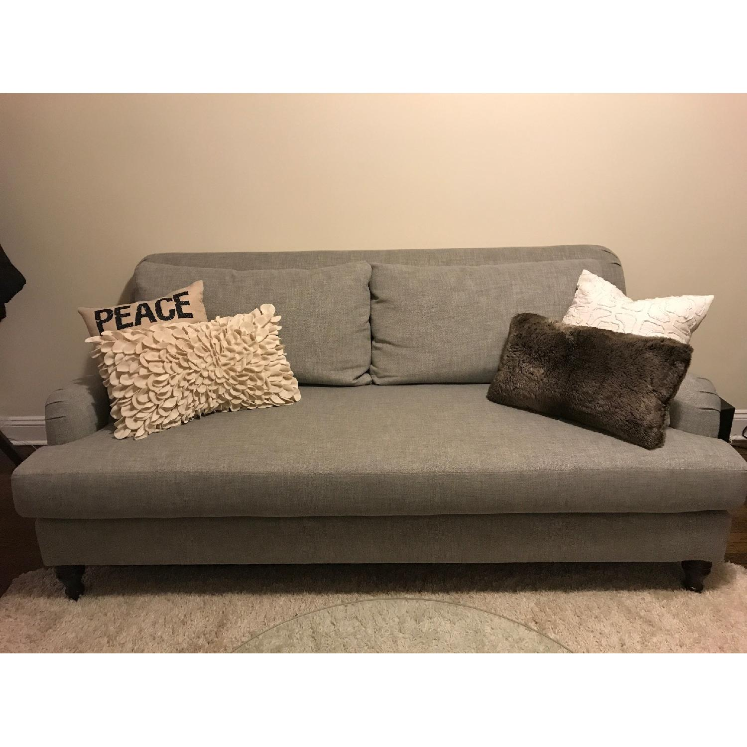 Pottery Barn Carlisle Upholstered Sofa-0