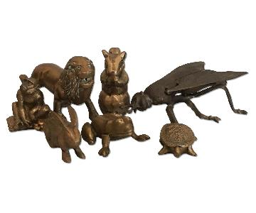 Vintage Brass Animal Collection