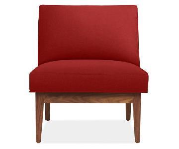 Room & Board Edwin Chair in Tatum Poppy
